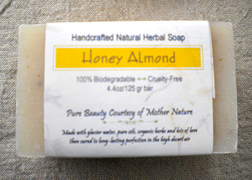 EarthGift Herbals Honey Almond