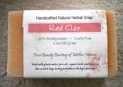EarthGift Herbals Red Clay