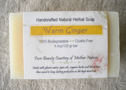 EarthGift Herbals Warm Ginger