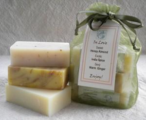 In Love Soap Set